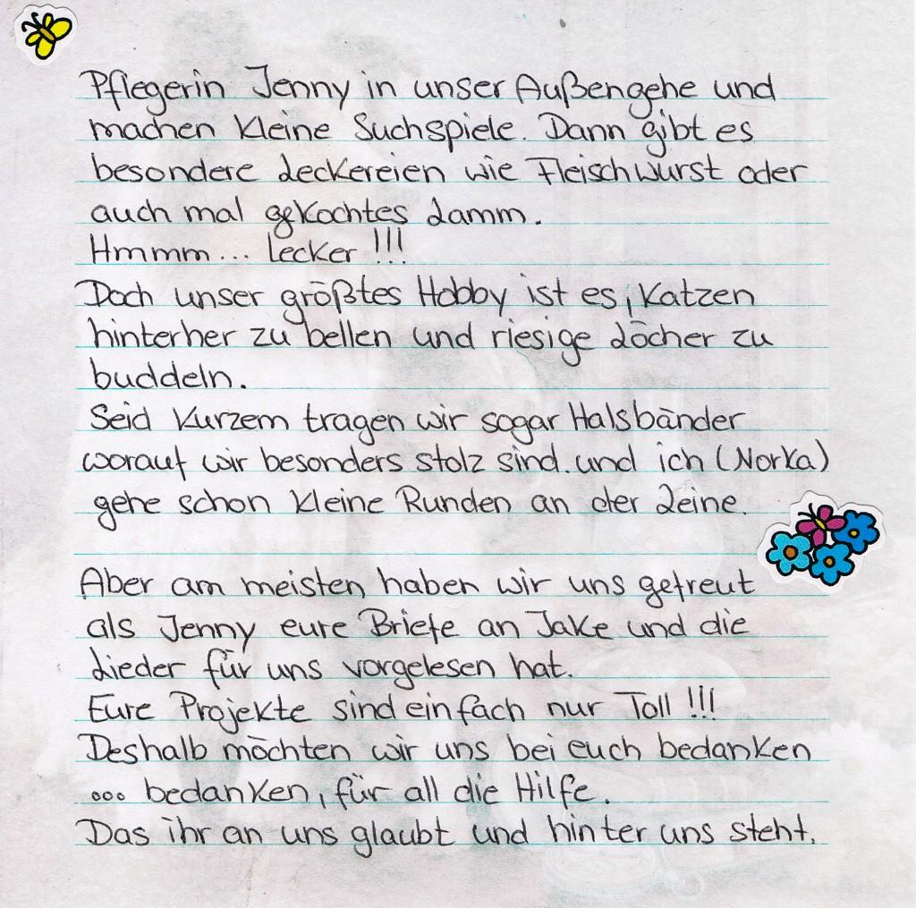 Brief Buska und Norka2