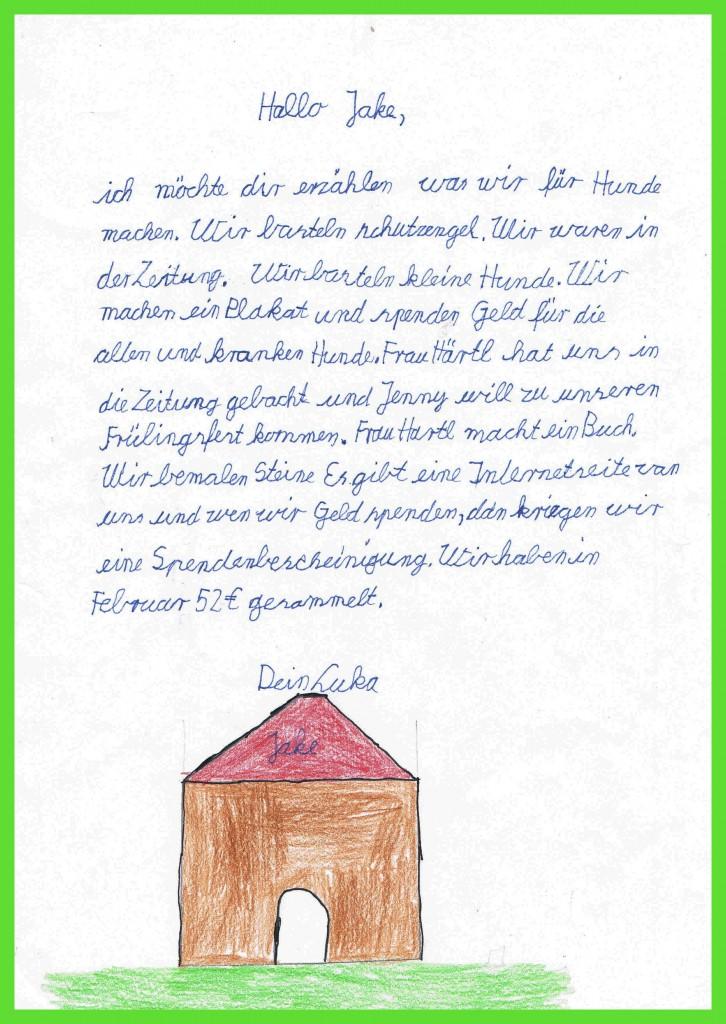 Lukas Brief an Jake