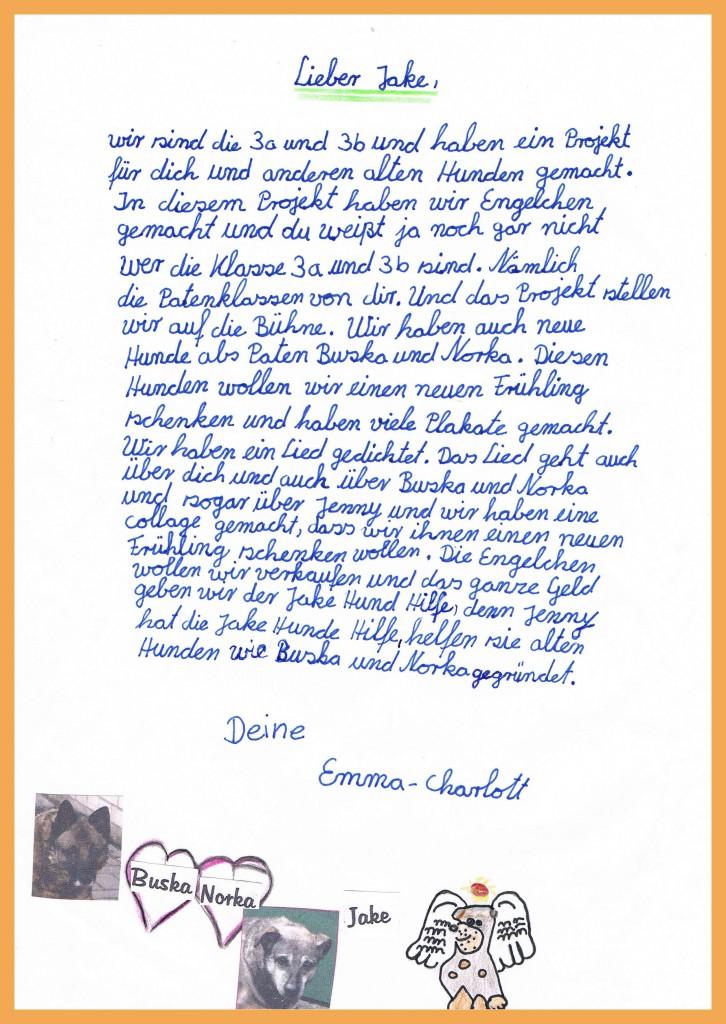 Emmas Brief an Jake
